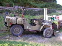 jeep with .50 Cal